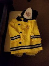 Firefighter costume - size 4T/5T in Bolingbrook, Illinois