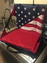 New Stadium Seat - Patriotic - Red, White & Blue in Glendale Heights, Illinois