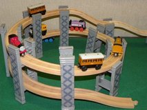 Wooden Train Set in Ramstein, Germany