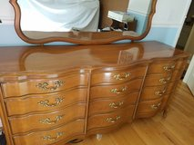 French Provincial dresser set, solid, well-constructed, nice! in Naperville, Illinois