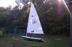 Laser Sailboat in Leesville, Louisiana