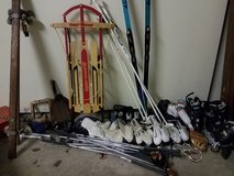 misc. sporting goods and fun outdoor stuff!! rollerblades  sz6-10, jazz shoes, x coun... in Lockport, Illinois