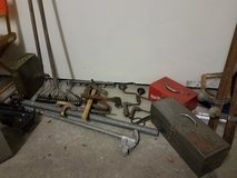 antique toolboxes and tools and misc. in Lockport, Illinois