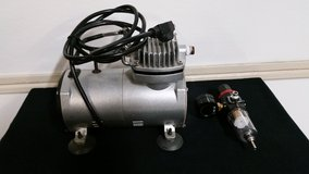 Airbrush Compressor with water trap in Travis AFB, California