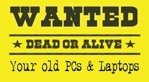 wanted dead or alive laptops pc in Lakenheath, UK