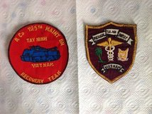Vietnam Unit Patches in Ramstein, Germany