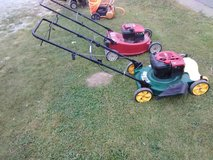Pushmower in Fort Campbell, Kentucky