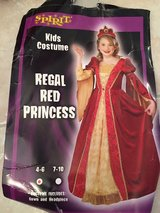 Halloween costume Regal Red princess size 4-6 in Westmont, Illinois