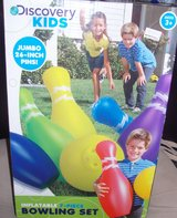 #TUB# KIDS 7 PIECE INFLATABLE BOWLING SET .NEW IN BOX in Fort Hood, Texas