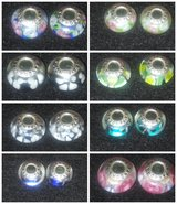 16 pcs.Pandora glass beads charms in Lawton, Oklahoma