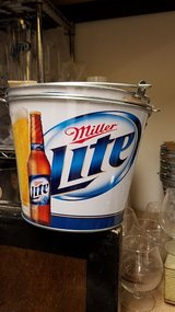 Brand New 2012 Miller Lite Metal Beer Bucket in Chicago, Illinois