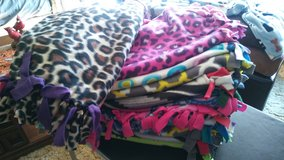 Fleece tied lap Blankets in Chicago, Illinois