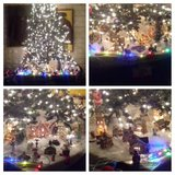 ****REDUCED***Christmas village and tree in Yucca Valley, California