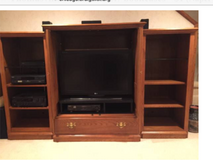 Wood from disassembled Media center by  Thomasville furniture - all solid wood! in Glendale Heights, Illinois