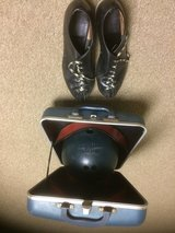 Brunswick bowling ball and shoes in Naperville, Illinois
