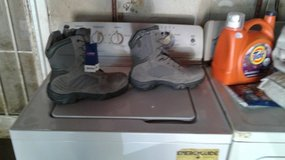 Bellville front lace steel toe boots in Travis AFB, California