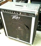 """Peavey 115 bass amp combo on casters, single 15"""", works great in Tacoma, Washington"""