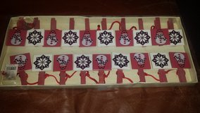 New!  Winter Clothespin Garland in Naperville, Illinois