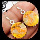 New - Bumble Bee Gemstone 925 Sterling Silver Earrings in Alamogordo, New Mexico