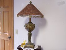 Beaded Shade Table Lamp in Oswego, Illinois