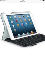 Logitech Ultrathin Keyboard Folio for iPad mini with Retina display: iPad protective case, Bluet... in Okinawa, Japan