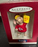 Hallmark Team NFL Collection Kansas City Chiefs Ornament YEAR 1996 in Ramstein, Germany