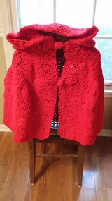Little Red Riding Hood Cape - Crocheted in St. Charles, Illinois