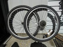 "26"" Mountain bike wheel set in Naperville, Illinois"