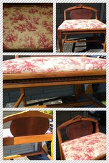 Vintage Dresser Chair-Vanity Bench in Bolingbrook, Illinois