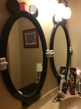 Mickey and Minnie Mouse mirrors in Naperville, Illinois
