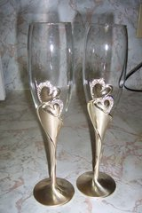 wedding glasses in Conroe, Texas