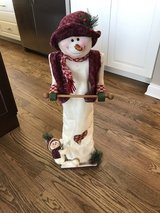 adorable snowman toilet paper holder in Naperville, Illinois