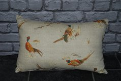 lumber cushion ... pheasant in Lakenheath, UK