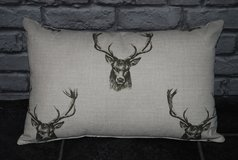 lumber cushion ... stags in Lakenheath, UK