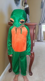 Halloween toddler frog costume in Aurora, Illinois