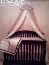 LIKE NEW GORGEOUS Unique Girls Crib Bedding in Lockport, Illinois