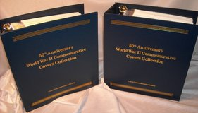Beautiful 50th Anniversary WORLD WAR II Commemorative Covers Stamp Collection in Schaumburg, Illinois