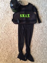 Halloween costume SWAT child size med (size 4-6?) with acc. in St. Charles, Illinois
