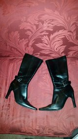 Black Leather Boots in Macon, Georgia
