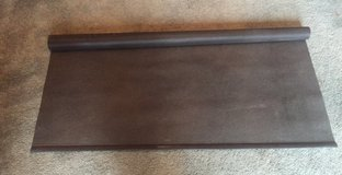 4 Brown Screen Roller Shades in Lockport, Illinois