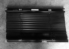 4 Black Metal Cordless Blinds in Bolingbrook, Illinois