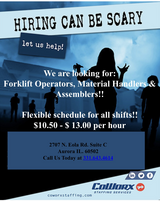 CoWorx is Hiring!! Day and Night Shift in Naperville, Illinois