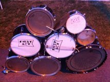 8 Piece Drum Set -- Reduced Price in Camp Pendleton, California