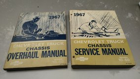 1967 Chevy truck Factory Service Manuals in Plainfield, Illinois
