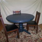 Round Table and Chairs   $65                 Adel in Moody AFB, Georgia
