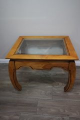Glass Topped Side Table in Spring, Texas