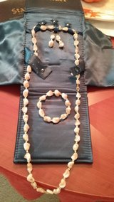 Stauer Maris Mother of Pearl Necklace Set in Beaufort, South Carolina