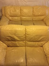 Leather couch/sofa and loveseat set in Aurora, Illinois