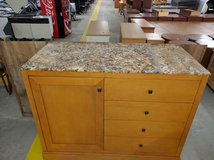MARBLE TOP TV STAND in Cherry Point, North Carolina