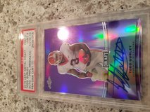 Todd Gurley graded Autograph  rookie card in Fort Campbell, Kentucky